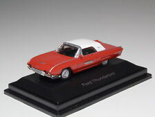 SCHUCO 1963 FORD THUNDERBIRD RED HO SCALE 1/87 452612000