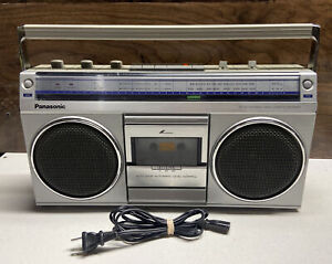 Vintage 1984 Panasonic RX-4940 Boombox Stereo Cassette Player/Recorder AM FM