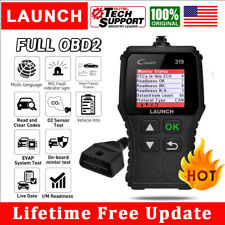 Launch CR319 OBD2 Code Reader Car Engine Fault MIL Turn Off Diagnostic Scan Tool