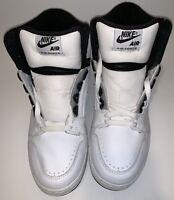 Nike Air Force II White Black Silver Size 10 2002' 624006 102