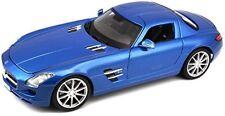 2010 Mercedes-Benz SLS AMG Gullwing azul Maisto 36196