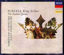 PURCELL: King Arthur / Indian Queen CHARLES MACKERRAS LEWIS 2CD Heather Harper