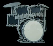 DRUM SET BELT BUCKLE NEW