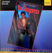The Carpenter (1988), Wings Hauser, Fantasy, Horror, **LaserDisc