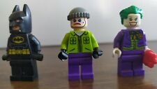DC Super Heroes LEGO 6863 Minifigure bundle x3 Batman Joker henchman