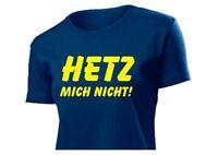 "Fun TEE-SHIRT Femmes chemise FR Hetz !"" Power haut pour taille S-XXL"