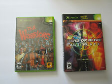 Xbox Game Lot Dead Or Alive Ultimate & The Warriors COMPLETE CIB