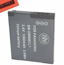 BM Premium DMW-BCL7 Battery for Panasonic Lumix DMC-SZ3,SZ8,SZ10,XS1,FH10,F5