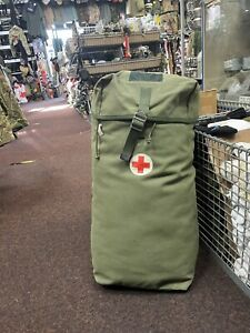 GENUINE SWEDISH ARMY FIRST AID RUCKSACK!! ALL GRADE 1!! APPROX 25LITRE