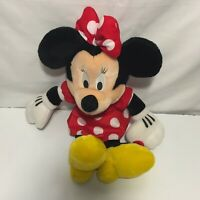 "Walt Disney World Parks Authentic 19"" Minnie Mouse Plush Stuffed Animal Doll"