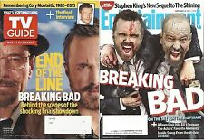 Breaking Bad Finale 2 Magazine Lot Entertainment Weekly TV Guide 2013 Monteith