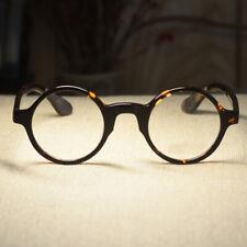 Retro Vintage round eyeglasses mens Johnny Depp glasses tortoise frame rx lens
