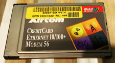 Xircom PC-Card PCMCIA 56K Modem 100Mb Ethernet card without cable
