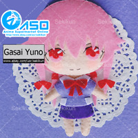 Mirai Nikki Gasai Yuno Anime DIY Handmade Toy Keychain Bag Hanging Plush Doll
