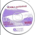 Alaska and Hawaii PC & MAC CD (Fogware children learn fun education travel tour)