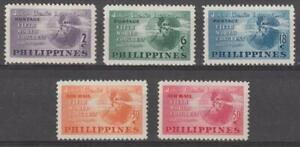 Philippines 1950 #537-39, C68-69 Jr. Chamber of Commerce World Congress - MNH