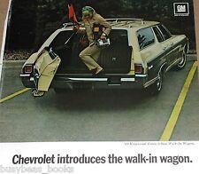 1969 Chevrolet advertisement, Chevrolet Kingswood Estate Wagon Chevy
