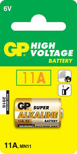 GP Batteries 11a 6 V High Voltage Alkaline Battery
