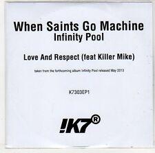 (ER135) When Saints Go Machine, Love & Respect ft Killer Mike - 2013 DJ CD