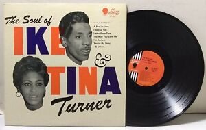 The Soul of Ike & Tina Turner - SUE RECORDS LP 2001