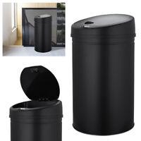 30L Automatik Sensor Mülleimer Edelstahl Abfalleimer Kücheneimer IR Papierkorb