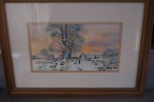 original water colour by Brian c Day