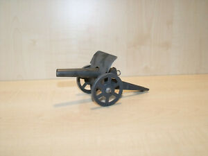 9372) Ungemarkt - Erbsenkanone Feldgrau - Blech - L. 16 cm - ansehen