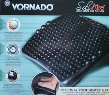 Vornado SoleAire Desk Foot Rest and Personal Space Heater Combo