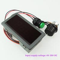 6V-30V 8A PWM 0-100% DC Motor Speed Regulator Controller Digital LED 6v 12v 24v