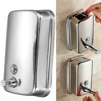 Alloy Soap/Shampoo Dispenser Lotion Pump Action Wall Mounted 500ml