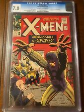 X-MEN #14 11/65 CGC 7.0 CROW FIRST SENTINELS!NICE EARLY X-MEN KEY COLLECTIBLE!