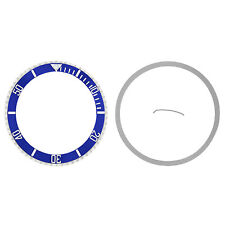 BEZEL & CERAMIC INSERT FOR ROLEX SUBMARINER 16800 16803 16608 16610 16613 BLUE