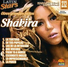 Shakira - Karaoke: Shakira - Latin Stars Karaoke [New CD]
