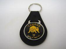 Vintage Keychain Charm: Taurus Bull Zodiak Sign