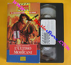 VHS film L'ULTIMO DEI MOHICANI Daniel Day-Lewis CINE COLLECTION (F109) no dvd