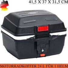 Motorradkoffer 24 L Top Case Motorrad Roller Rollerkoffer Koffer Motorradtasche