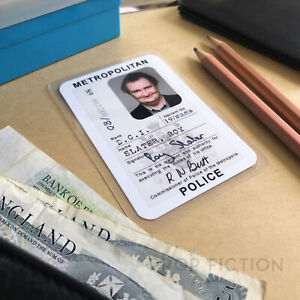 Only Fools and Horses - DCI Prop Police Warrant / Cosplay Wallet ID Card
