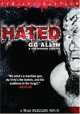 Hated - Region 2 Compatible DVD (UK seller!!!) GG Allin, Merle Allin, Todd NEW