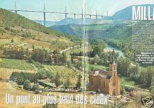 Coupure de presse Clipping 2004 Le Viaduc de Millau - la construction  (8 pages)