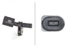 Sensor, Raddrehzahl für Bremsanlage Vorderachse HELLA 6PU 012 039-001
