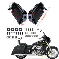 Carenatura Gambe Lower Fairing per 1983-2012 Harley Road King Electra Glide