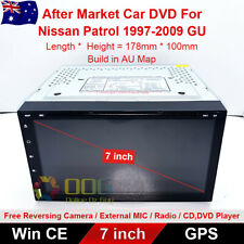 "7"" Car DVD GPS Navigation Head Unit Stereo For Nissan Patrol 1997-2009 GU"