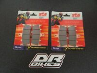 Kawasaki ZX6R 2000 2001 J1 J2 SBS Race Sintered Front Brake Pads 686RS