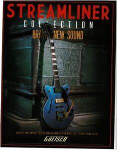2018 GRETSCH Streamliner LE Center Block Jr electric guitar magazine ad