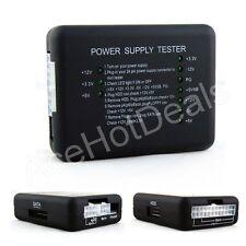 20/24 Pin LED PSU ATX SATA HDD Power Supply Tester Checker Meter PC Computer