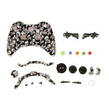 Custom Button /Cover Shell Mod Parts for Xbox 360 Game Controller Cute Skull
