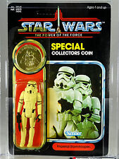 Vintage Star Wars STORMTROOPER 1985 POTF 92-back - AFA85 - Kenner MOC~UP MTFBWY!