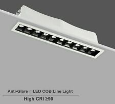 Single Row Long Square LED Ceiling Spot Light Non Dimmable Recessed Downlight