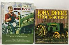 John Deere Tractor Books Farm Equipment Encyclopedia History Lot of 2