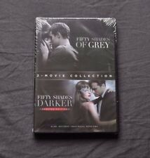 Fifty Shades of Grey & Fifty Shades Darker DVD 2-Movie Collection New